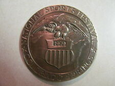 RARE TIFFANY & CO. 1979 COLORADO SPRINGS NATIONAL SPORTS FESTIVAL MEDALLION HTF
