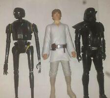 """Star Wars Jakks Pacific """"18"""" Inch Figures lot of [3] Huge Luke Skywalker"""