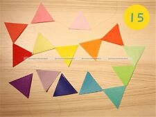15Flags 2.8 Meter Colorful Felt Banners Party Home Wedding Garland Decoration S3