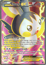 Pokemon Emolga-EX - 143/146 - Full Art, Near Mint X1