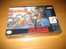 Super Castlevania IV 4 Super Nintendo SNES Konami Brand New Sealed