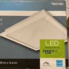 New in Box Utilitech 0831383 Ventilation Fan with Led Light 100 Cfm
