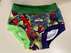 """SIZE 2XL (28""""-30"""") Boys' Marvel Spider-Man Briefs Underwear"""