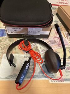 Plantronics Blackwire C5210T C5200 USB/3.5mm Wired Monaural Headset