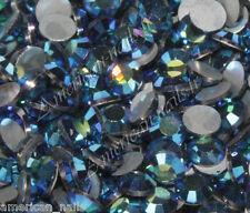 20 STRASS Cristal SWAROVSKI Bleu Montana AB 2,1 mm Nail Art bijoux d'ongles