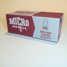 Micro Models GB  2 Holden Coupe Utility (48-215 / FX) empty Reproduction box