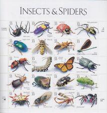 Insekten Insects USA Mi Nr. 3192 - 3211 ** ZD Bogen, postfrisch, MNH