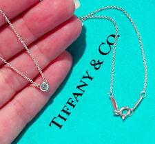Tiffany & Co Silver Elsa Peretti LARGE Aquamarine By the Yard Necklace