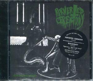 PERVERTED CEREMONY / WITCHCRAFT Nighermancie / Black Candle Invoker CD