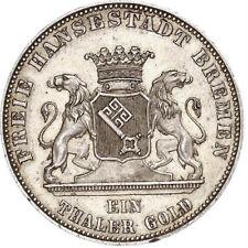 AA5645) Bremen, Stadt Taler 1863 Auf die Befreiung von Napoleon 1813