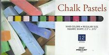 Chalk Pastels 12 Colors! ~ Pastel Set ~ Free Shipping!