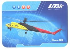 UTAIR Aviation Russian Airlines Helicopter MILL-10K Pocket Calendar 2013 NEW