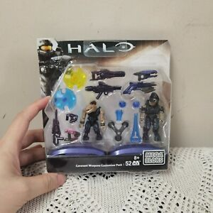 Halo Covenant Weapons Customerize Pack Mega Bloks Construx CNH22 toy figure new