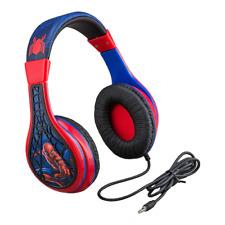 Marvel Spider-Man Youth Headphones by eKids - NEW