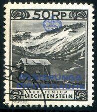 LIECHTENSTEIN DIENST 1932 6B gestempelt gute Zähnung 360€(Z2219