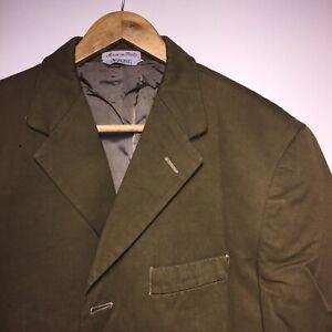 Valentino Luxury Designer Khaki Sport Blazer Size 40 Jacket