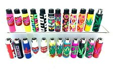 More details for new  clipper pop leaves and other design rubber case clipper lighters  new model