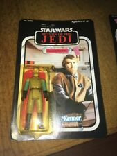 MOC Vintage Star Wars ROTJ General Madine UNPUNCHED 77 Back 1983 Kenner Nice!