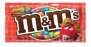M&M Peanut Butter 46.2g Bag Sweet American Candy Variety of Weights
