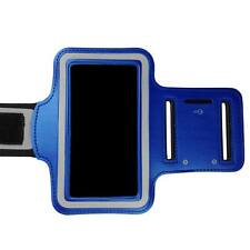 Blue Sports Armband Running Gym Exercise Case for Apple iPhone SE 5S 5C 5 4S