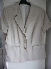 Smart cream/ beige Jacket size 20 from BHS