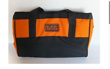 Black & + Decker Drill / Tools Carry Case Bag 33 x 22 x 8cm