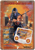 "Tiger Electronics Ninja Gaiden Hand Held Game 10""X7"" Reproduction Metal Sign G58"