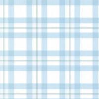 Blue & White Plaid Wallpaper KB25576
