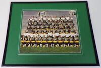 1992 Green Bay Packers Team Framed 11x14 Photo Display 1st Brett Favre Season