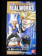 Bandai Dragonball Z Kai Real Works Super Saiyan Trunks Collection Figure Sh Shf