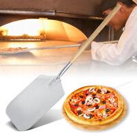 Pizza Schaufel Schieber ALU 85cm Wender Heber Brot Backen Ofen Grill Holz Griff