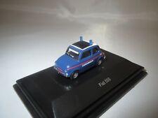 "Schuco 25863  Fiat  500  ""Carabinieri""  (blau/rot) 1:87  OVP !"
