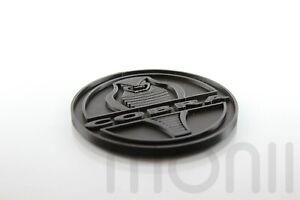 Cobra Emblem For Ford Mustang Shelby GT350 GT500 Badge Decal Logo Black Deck Lid
