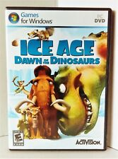 Ice Age: Dawn of the Dinosaurs - PC Game Windows with Manual