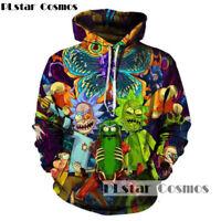 Rick and Morty Hoodies PLstar Cosmos Fashion 3d Hot cartoon printed sweatshirts