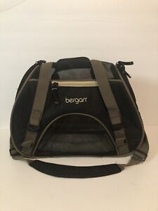 Bergan Comfort Carrier Bag Airline Approved small Pets Dog/Cat Small Black/Tan