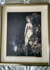 Vintage Betye Saar Original Signed  Print  - Needs Repair