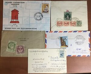 Burma 1948 Onwards Cover Collection