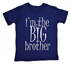 """Big Brother T-Shirt """"I'm the BIG Brother"""" Boy Funny Tee Gift Family Clothes Gift"""