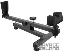 Rifle Rest Shooting Bench Maintenance Air Gun Scope Zeroing Cleaning - Black