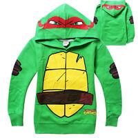 Cute Teenage Mutant Ninja Turtles Clothes Baby Kids Boys Tops Hoodies Sweatshirt