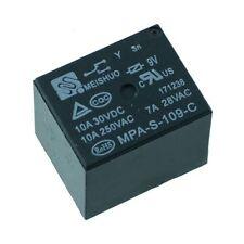 9V Mini Relé SPDT de alimentación 15A