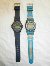 Lot of 2 Casio G-Shock G-2210 + 1647 DW-003 Watch Wristwatch - untested