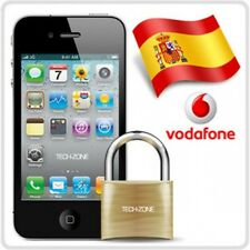 Factory Unlock Vodafone Spain iPhone 4 5 5C 5S 6 6+ 6S 6S+ 7 7+ Express ALL IMEI