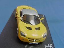 Modellauto Opel Speedster gelb Maßstab 1:43