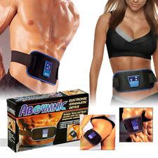 ORIGINAL GYMNIC ABS ELECTRONIC BODY MASSAGE BELT QUAD MUSCLE TUMMY TONING WAIST