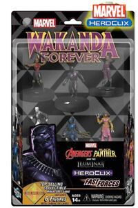 WIZKIDS Heroclix Avengers Marvel Black Panther Et The Illuminati Fast Forces