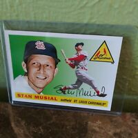 Stan Musial Topps #175 Diamond Anniversary 60YOTLC-5 Collector Card