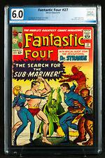 FANTASTIC FOUR #27 (Marvel 1964) PGX 6.0 Fine Dr. Strange Cross Over +CGC!!!