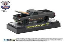 1:64 M2 Machines *GROUND POUNDERS R17* FLAT BLACK 1970 Chevrolet EL CAMINO *NIB*